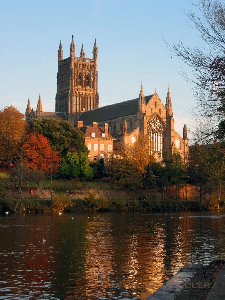 Worcester Cathedral and Bishop's House