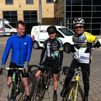 Cyclists Support Prostate Cancer